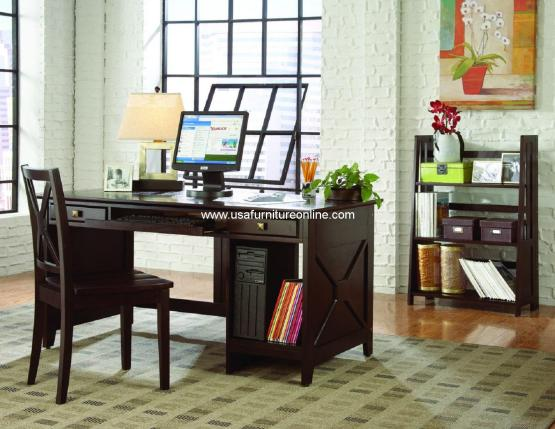 Homelegance Britanica Cherry Writing Desk
