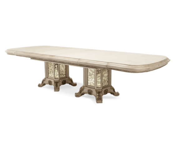 Platine De Royale Dining Table Champagne