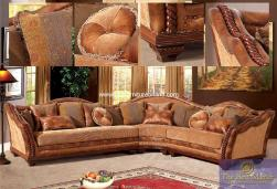 Fabric 607 Sectional Set