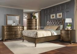 Clayton Gold Bedroom Set