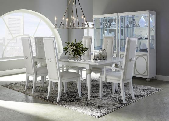 Sky Tower Modern Dining Set