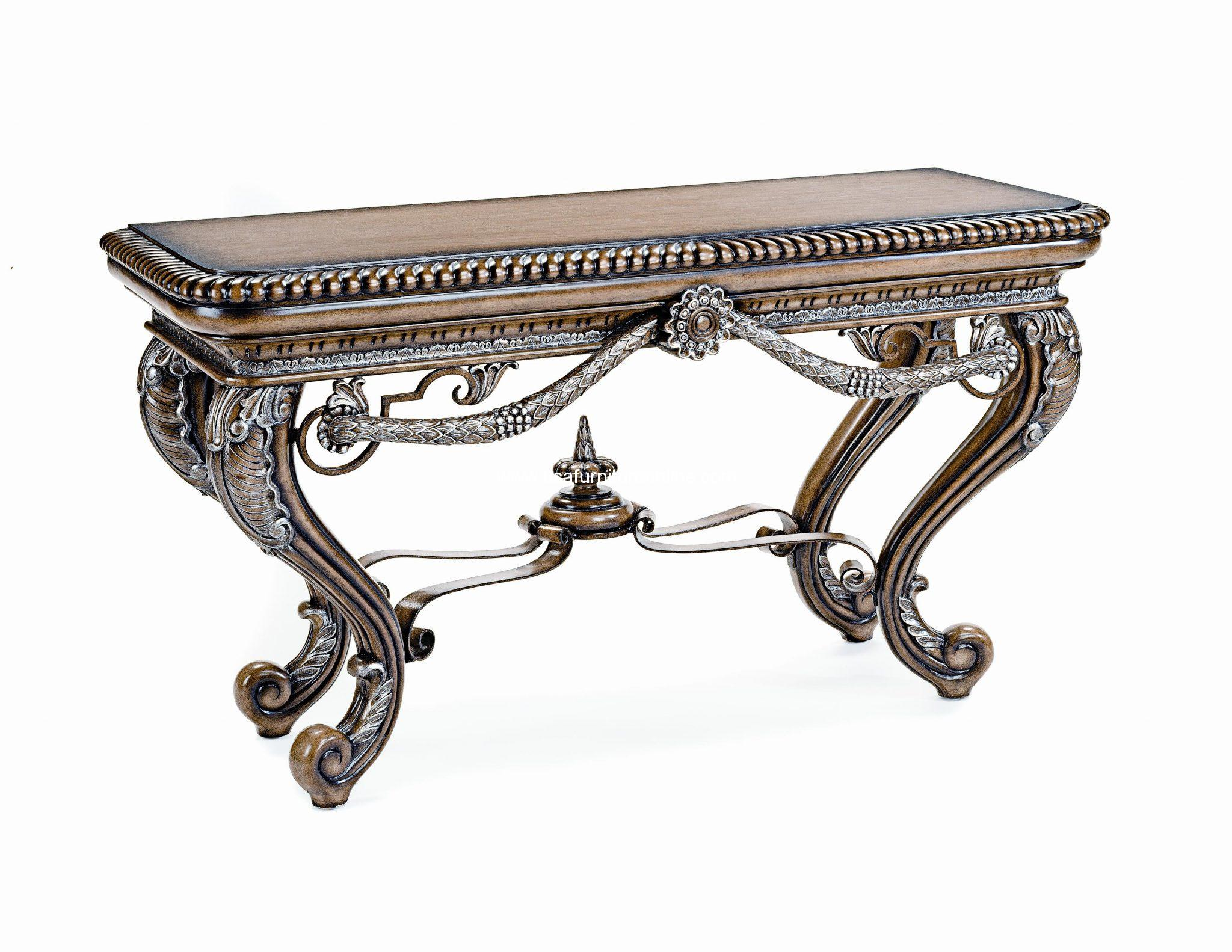 - Organza Accent Console Table - USA Furniture Online