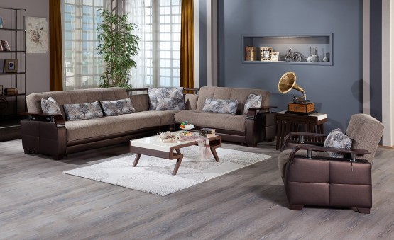 Dogal Sleeper Sectional
