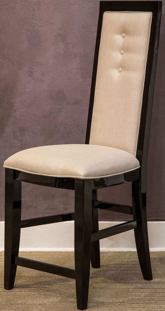 Sky Tower Black Ice Counter Height Chair