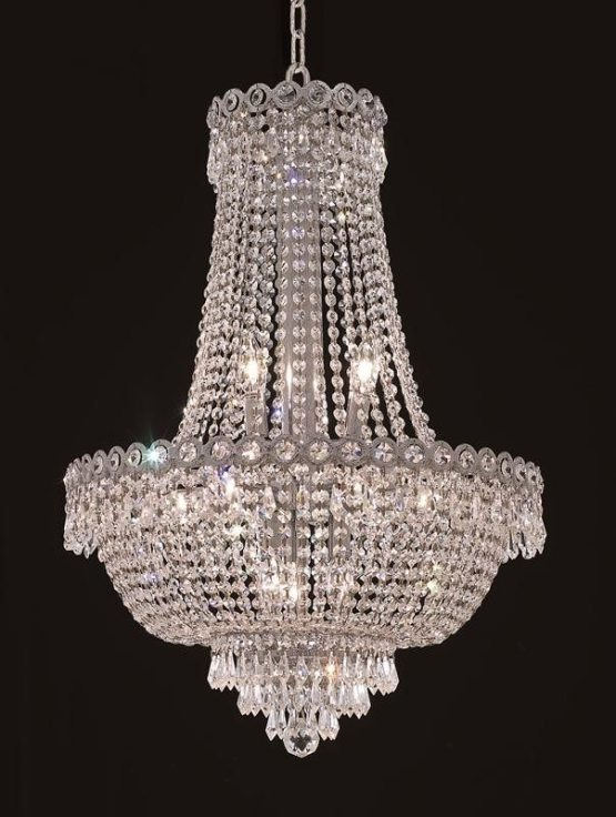 12 Lights Chandelier 1900 Century Collection