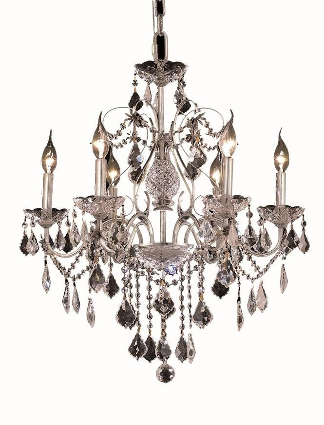 6 Lights Chandelier 2015 St. Francis Collection