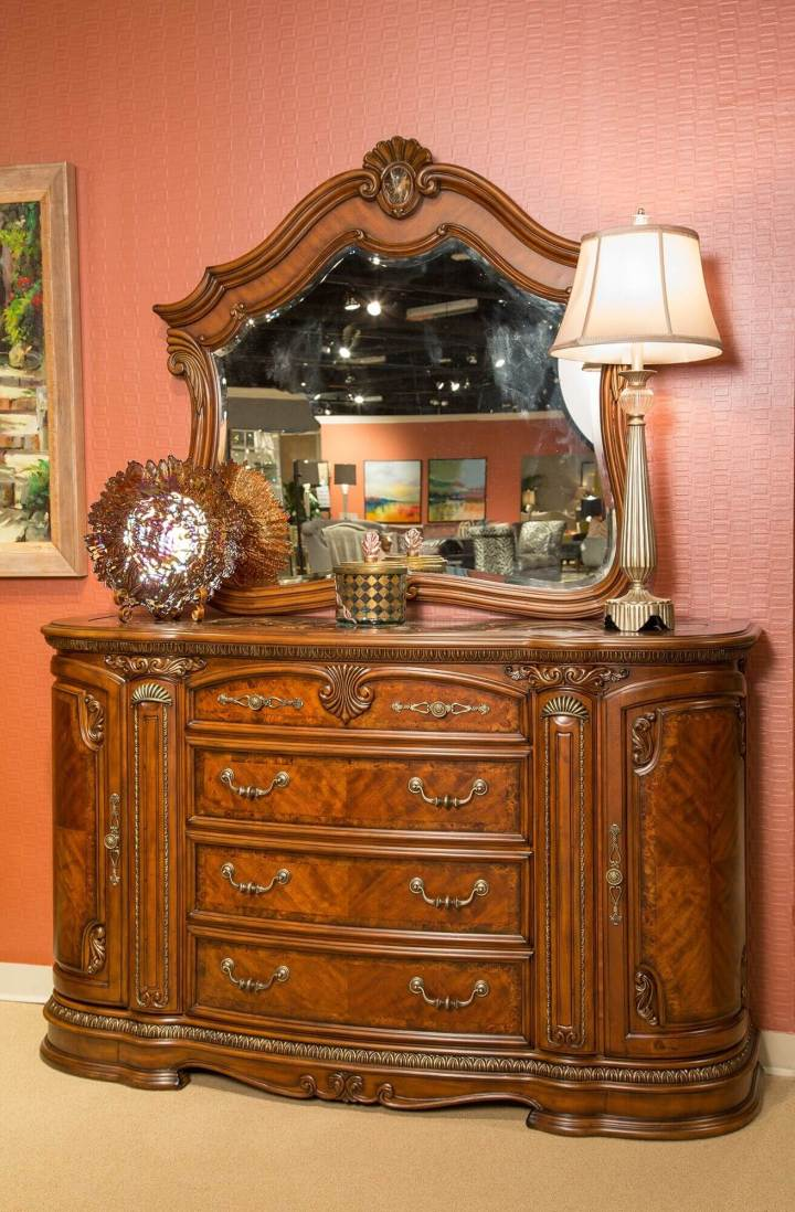 Bella Veneto Dresser With Marble Top