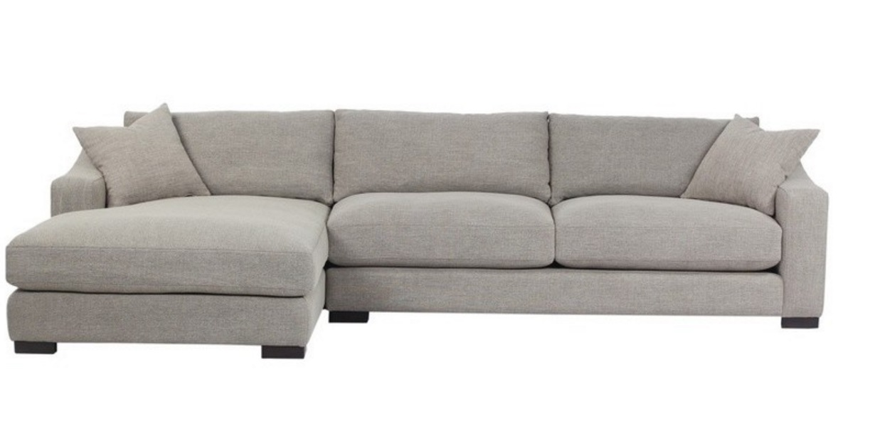 Brandon Left Chaise Sectional Sofa