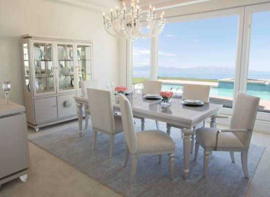 Glimmering Heights Extendable Dining Set