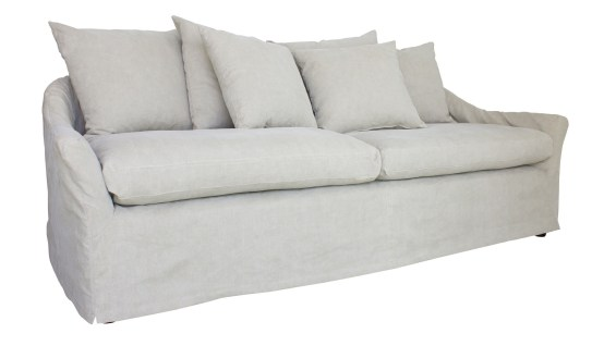 Anniston Sofa Light Linen By Spectra Home