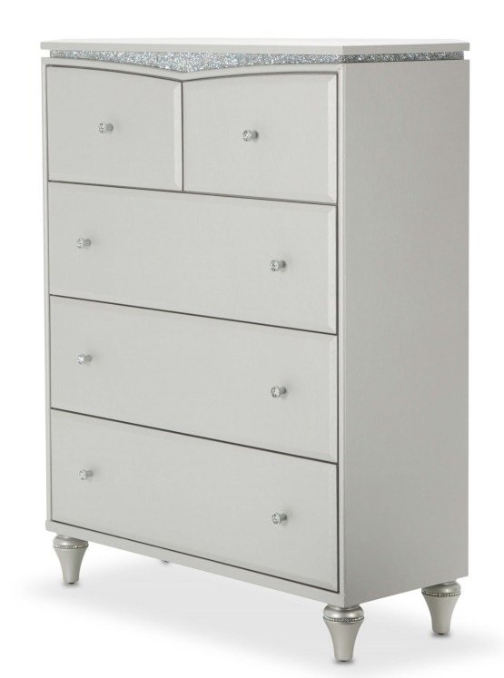 Melrose Plaza Upholstered Drawer Chest