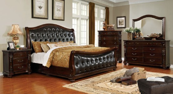 Fort Worth Sleigh Bedroom Set