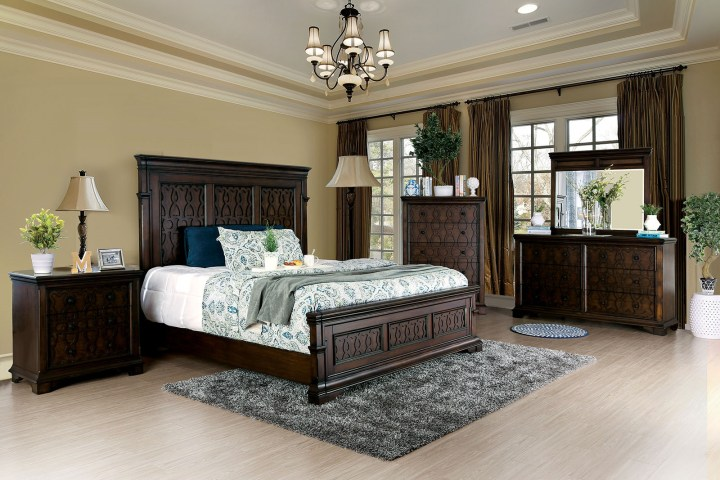 Minerva Panel Bedroom Set