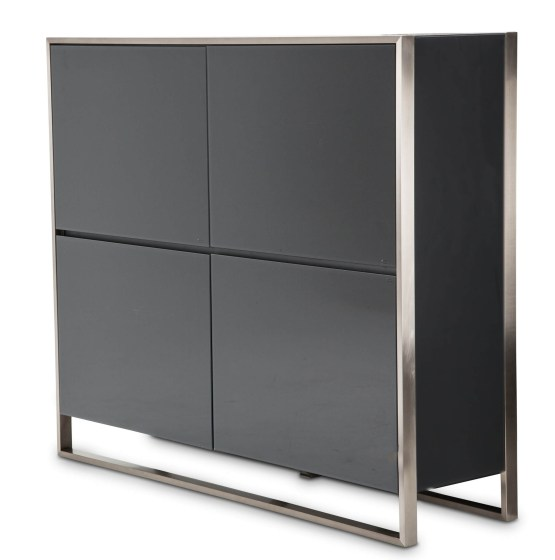 Metro Lights Four Doors Accent Cabinet