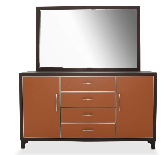 21 Cosmopolitan Orange Drawer Dresser
