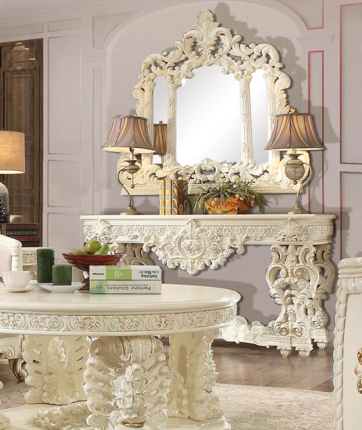 Homey Design HD-2011 Console Table