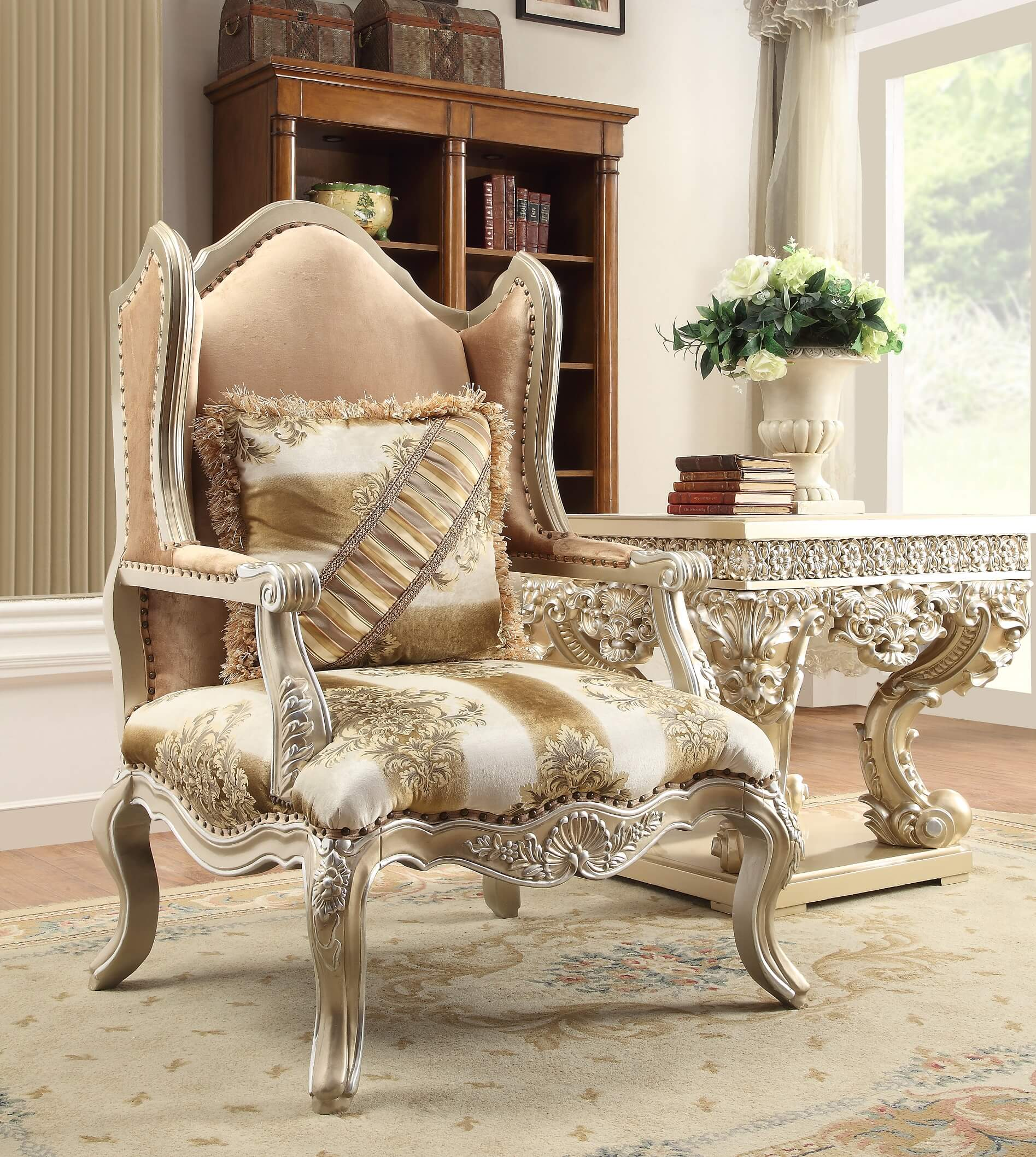Homey Design Hd 820 Royal Palace Accent Chair Usa