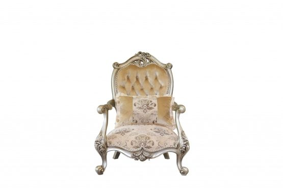 Valeria Wood Trim Chair