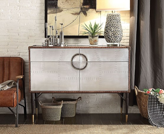 Acme Industrial Console Table