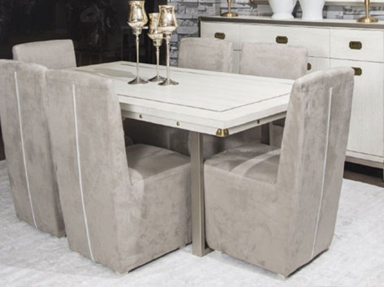 Aico Menlo Station Rectangular dining Set