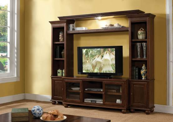 4 Piece Acme Dita Entertainment Wall Center