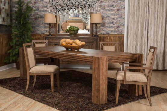 Carrollton 4 Leg Dining Set