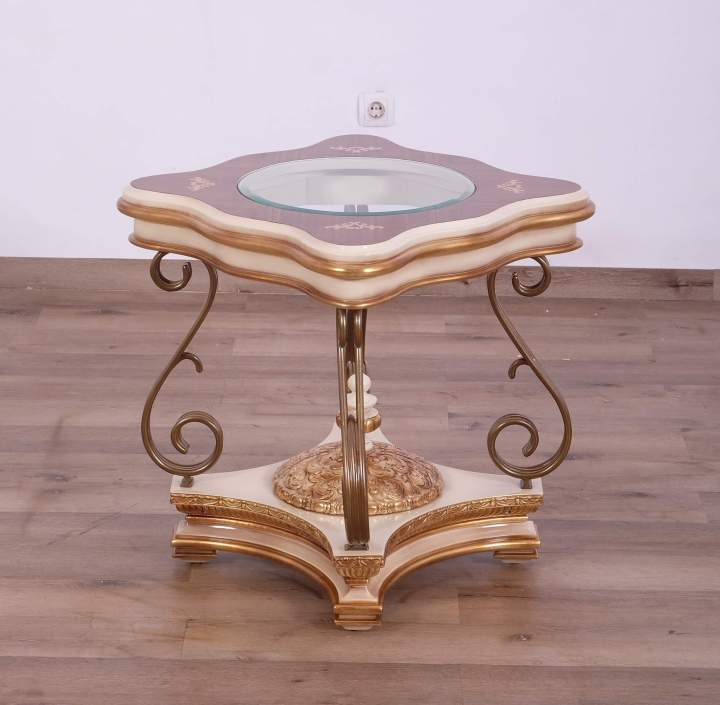 Valentine Beige Side Table