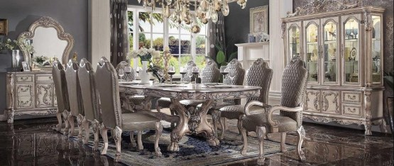 Acme Dresden Extendable Dining Set
