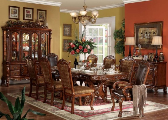 Dresden Dining Set in Cherry Finish