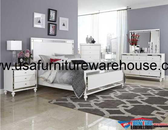 4 Piece Modus Kentfield Solid Wood Bedroom Set: 4 Piece Modus Meadow Solid Wood Storage Bedroom Set
