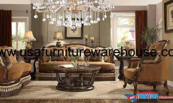 3 Piece Homey Design HD-9344 Sofa Set