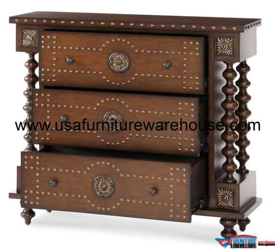 3-Drawer Accent Chest