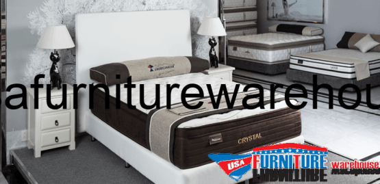 Crystal Pocket Coil Plush Top Mattress