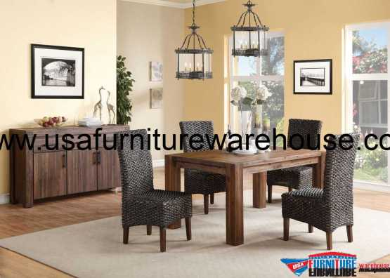 Modus Meadow Solid Wood Dining Set