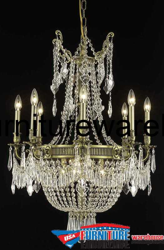 12 Lights Chandelier 9312 Esperanza Collection