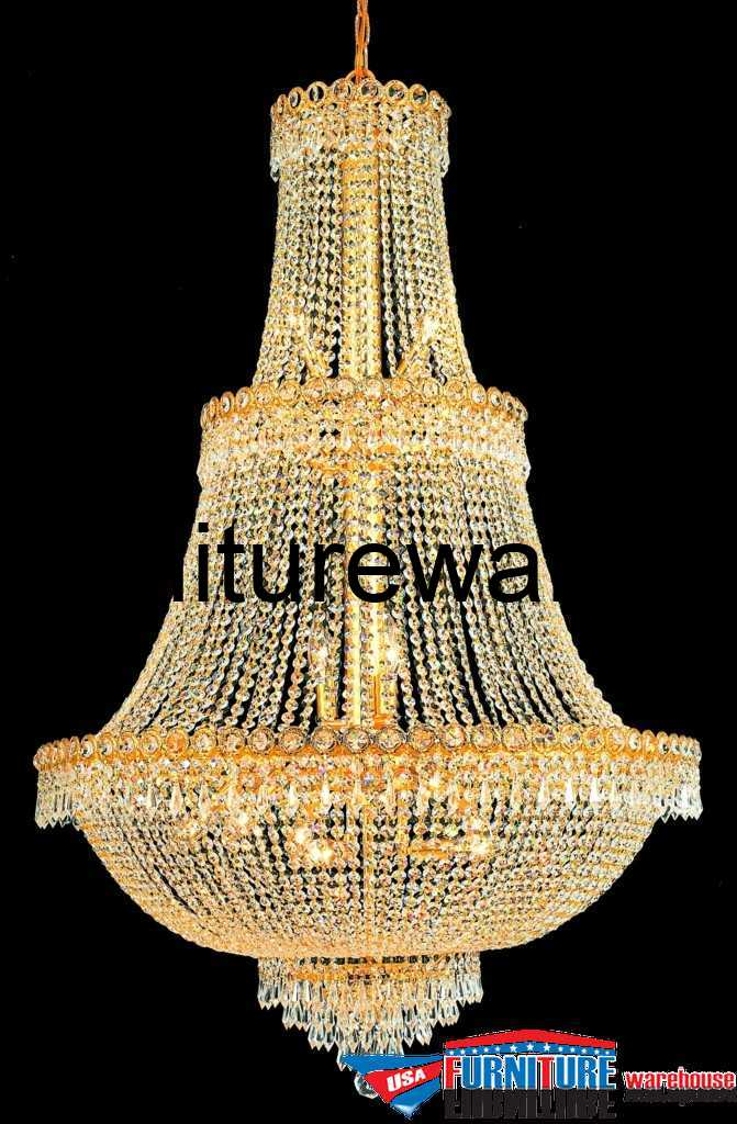 17 Lights Chandelier 1900 Century Collection