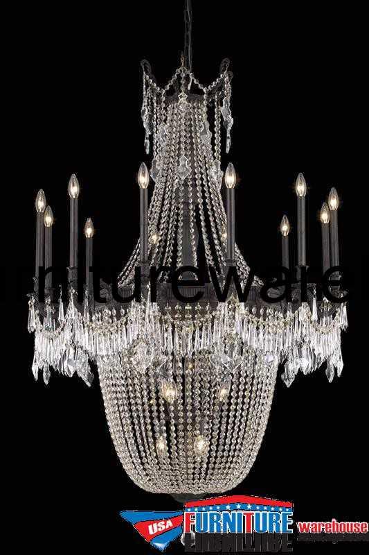 22 Lights Chandelier 9322 Esperanza Collection