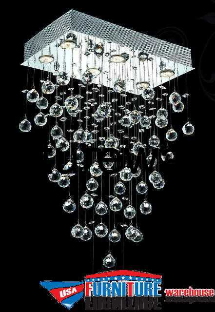 6-LED Lights Chandelier 2021 Galaxy Collection