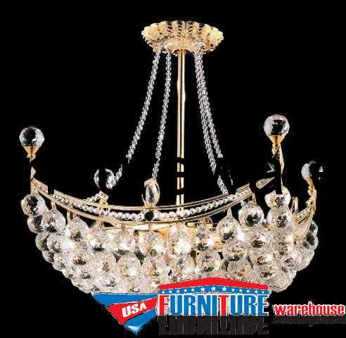 8 Lights Chandelier 9800 Corona Collection