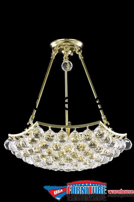 8 Lights Chandelier 9802 Corona Collection