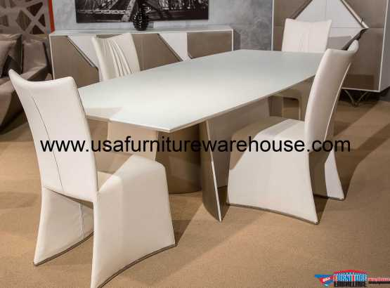 Aico Trance Matrix Dining Set