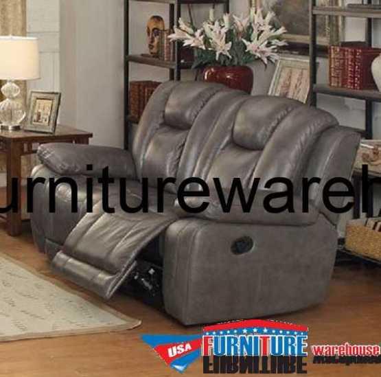 Austin Top Grain Leather Reclining Sofa Usa Furniture