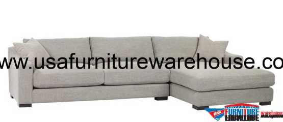 Brandon Right Chaise Sectional Sofa