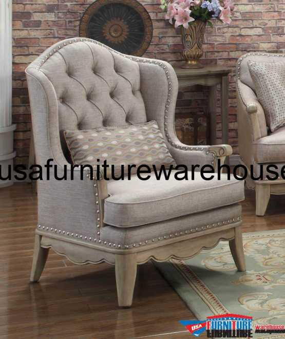 Homelegance Ashden Polyester Fabric Accent Chair