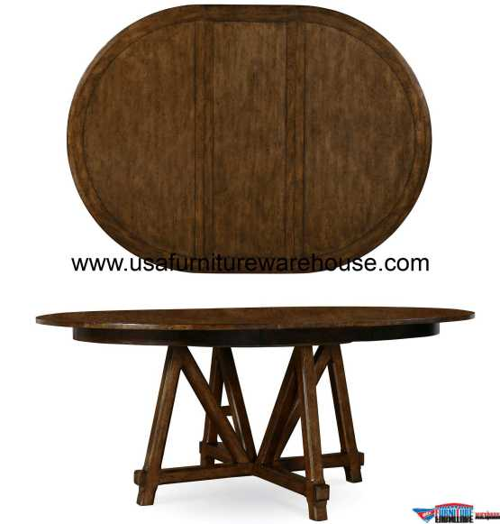 A.R.T Furniture Echo Park Round To Oval Dining Table