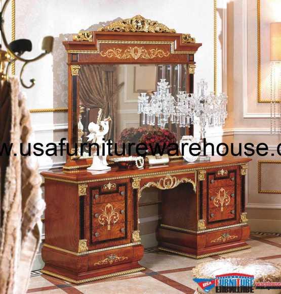 European Luxury Bedroom: 5 Piece European Luxury Bedroom Set
