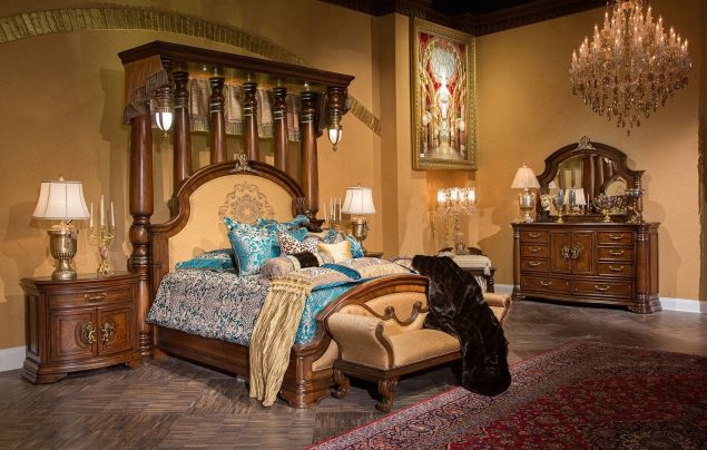 Aico Grand Masterpiece Half Tester Bedroom Set
