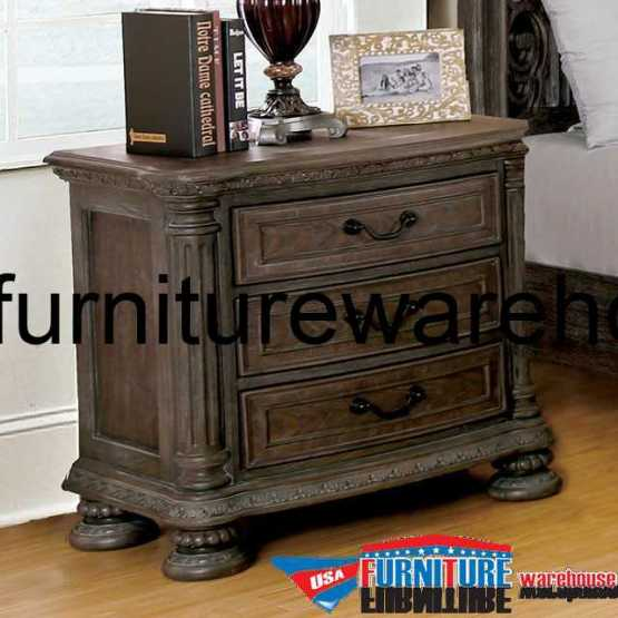 4 Piece Modus Kentfield Solid Wood Bedroom Set: Modus Kentfield Solid Wood Nightstand