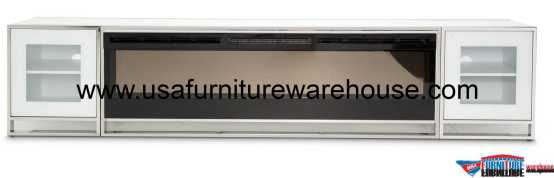 4 Piece Aico StateSt Fireplace Cabinets And Firebox