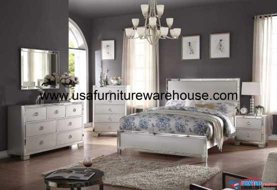 Acme Voeville II Platinum Bedroom Set